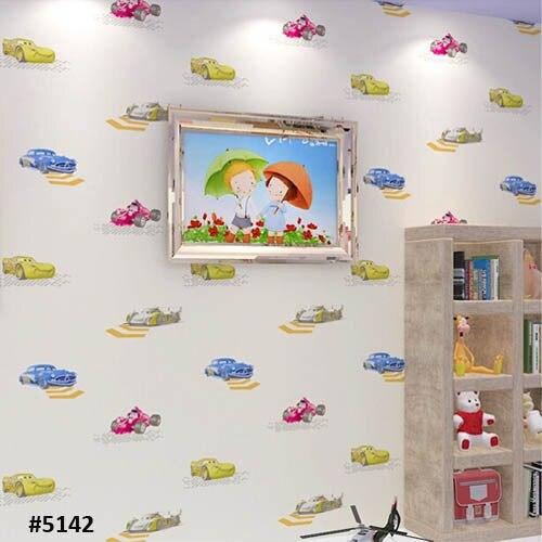 ФОТО Carton Car Wallpaper for Boy Kids Bedroom Designer Wall Paper Wallcovering Adesivo papel de parede para sala 3D Mural
