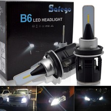 цена на H4 H7 H8 H9 H11 LED Car Headlight Kit - Safego  24W 3600Lm High Quality LED Chips Conversion Kit 12V