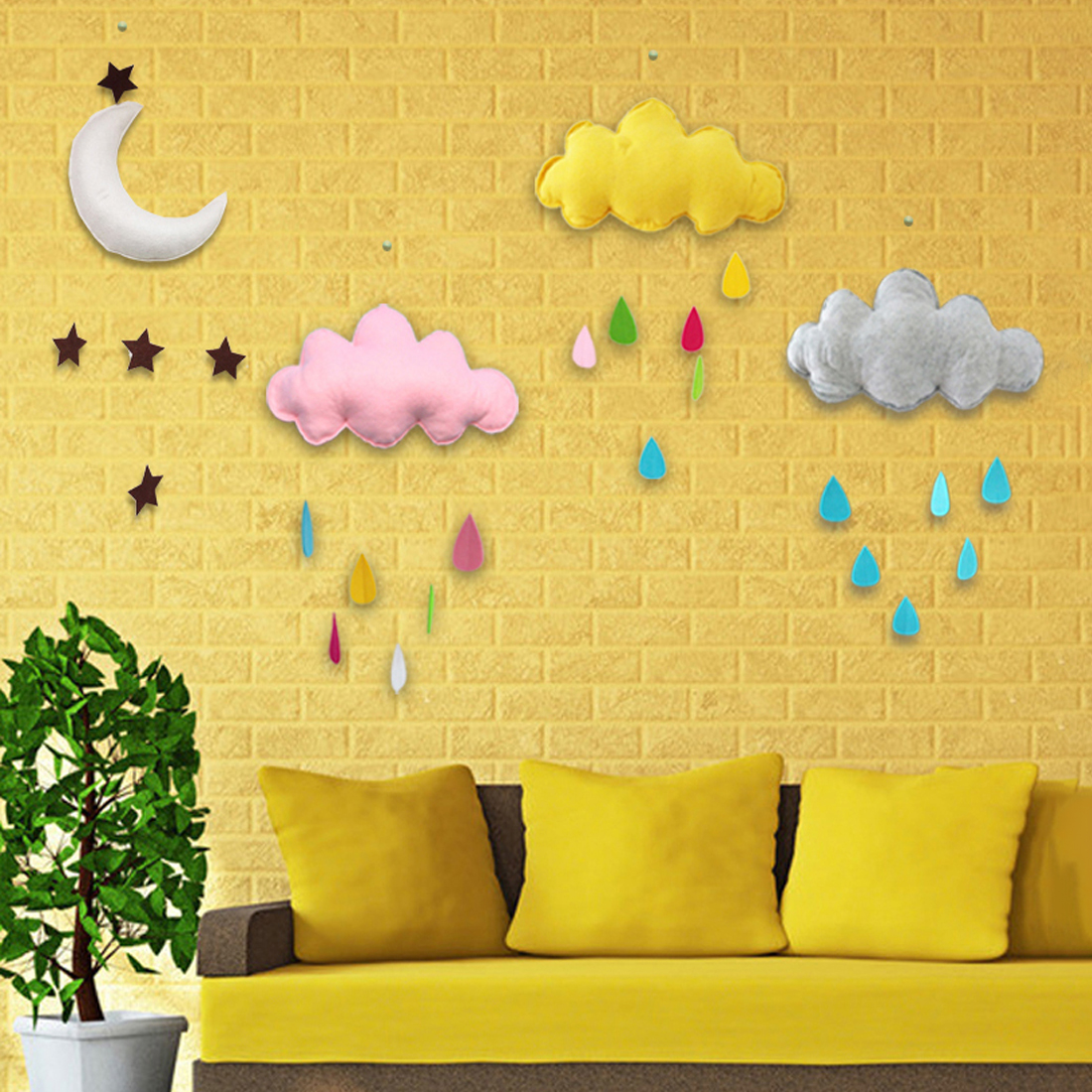 2018 Kids Play Tent Decoration Tent Props Toy Raining Clouds Water ...