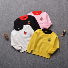 c901639ab5af Funfeliz Knitted Sweater Children 2018 Autumn Winter Sweater for ...