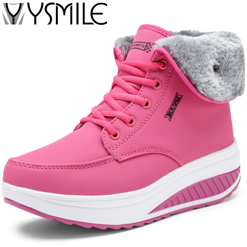 High quality winter plush warm snow women flats shoes sneakers zapatos mujer female walking shoes women platform shoes boots hot