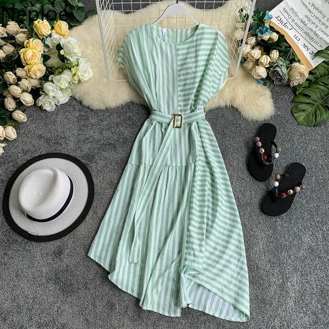 Striped Women Dress 4