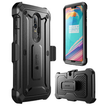 SUPCASE Case For OnePlus 6 UB Pro Full Body Rugged Holster Protective Cover with Built in Screen Protector For One Plus 6 Case