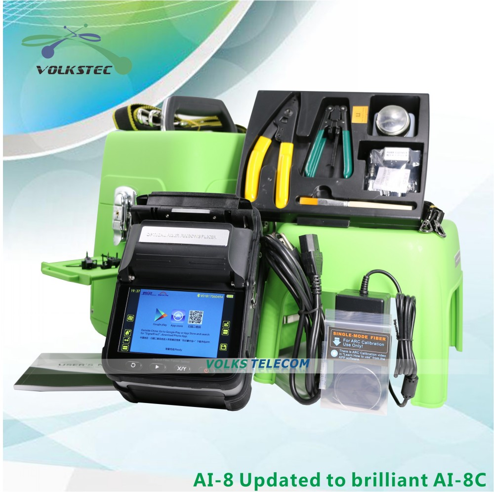 2019 NEW Brilliant AI-8C Fusion splicer Machine SM & MM splicing machine2019 NEW Brilliant AI-8C Fusion splicer Machine SM & MM splicing machine