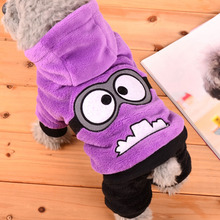 Funny Pet Dog Clothes Soft Winter Puppy Coat Dog Clothes For Small Dogs Jumpsuit Winter Pet Clothing Hoodie Apparel 39S1