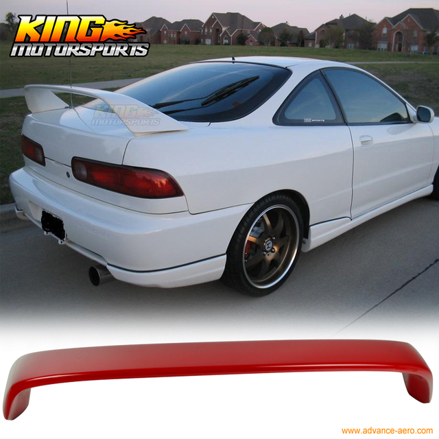 For Acura Integra DC Type R Painted R Milano Red Trunk - Acura integra spoiler