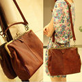 Hot Sale 2016 Fashion Designer Brand Women Leather Handbags Ladies Shoulder Bags Tote Bag Female Retro Vintage Messenger Bags