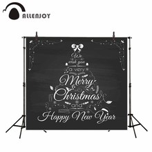 Allenjoy photography backdrop Black and white art aesthetic design Christmas background newborn original design for photo studio(China)