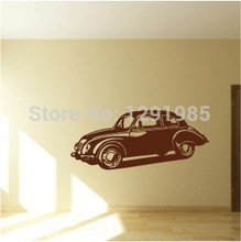 Car Wall Vinyl Stickers Art Decal Reusable Removable Decal fashion design custom made wedding decoration Free Shipping