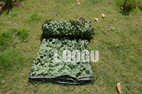 LOOGU E 1.5M*2M Woodland Pure Green Camo Netting Jungle Sunshade Green Decoration Camo Net Paintball Games Camouflage Netting