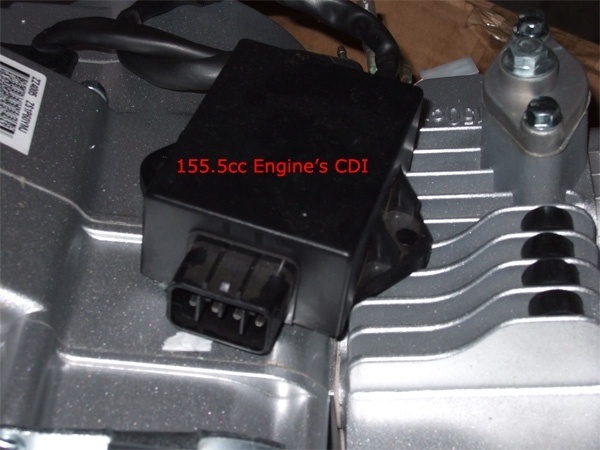 155.5cc Pit Bike Racing Engine's CDI