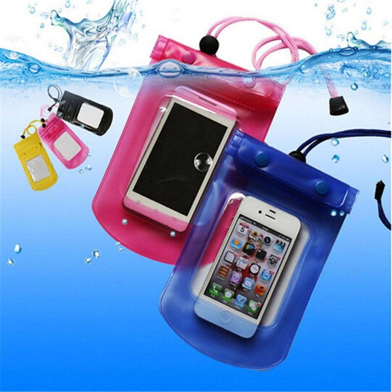 6a524ec57f7 10 pieza 8 pulgadas sello bolsa impermeable funda trasera submarina para  iPhone 6 5 5S 4 4S para LG G2 para la galaxia S4/5 en Bolsa del teléfono de  ...