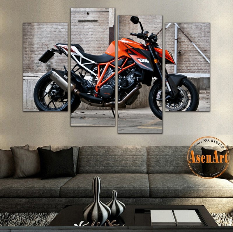 Motorcycle Wall Art popular motorcycle wall art panel-buy cheap motorcycle wall art