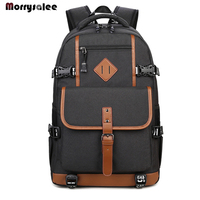 Casual Backpack Men's College Students Bag retro Backpack College wind Travel Computer Bag