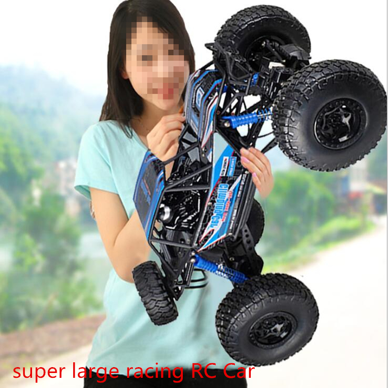 all Terrain Scale 48CM super large racing RC Car 4WD driving big foot RC Car rock climber off road car model charged toy car