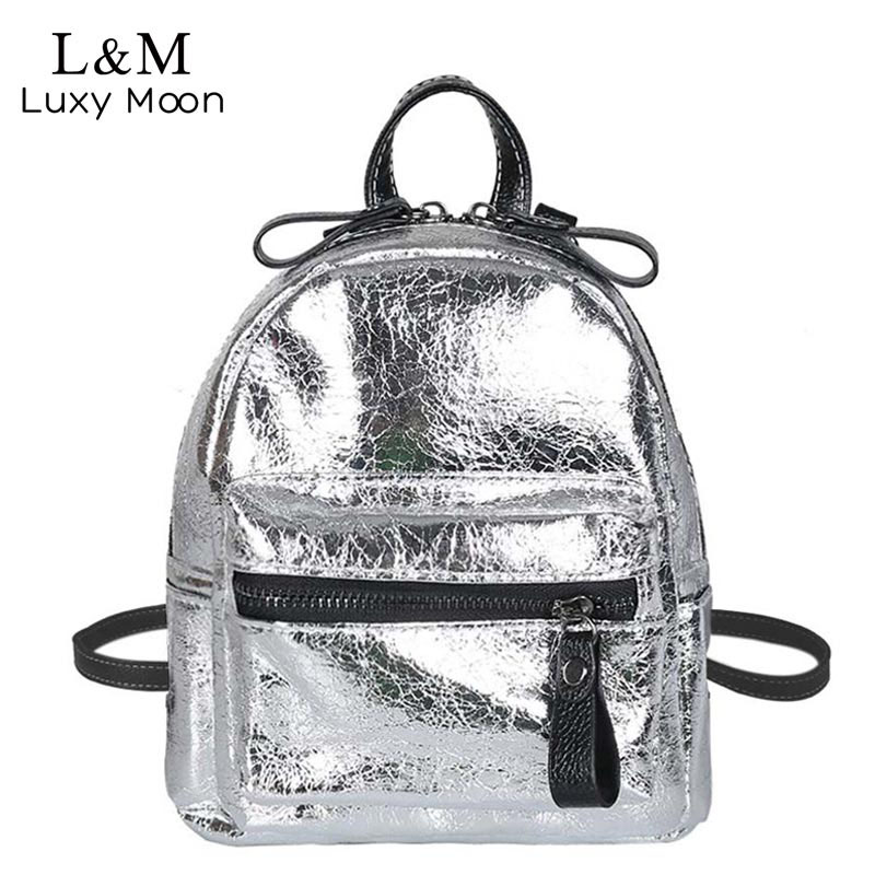 bc2203a8a6 Sequins women pu backpacks glitter large girls travel shoulder bags ...