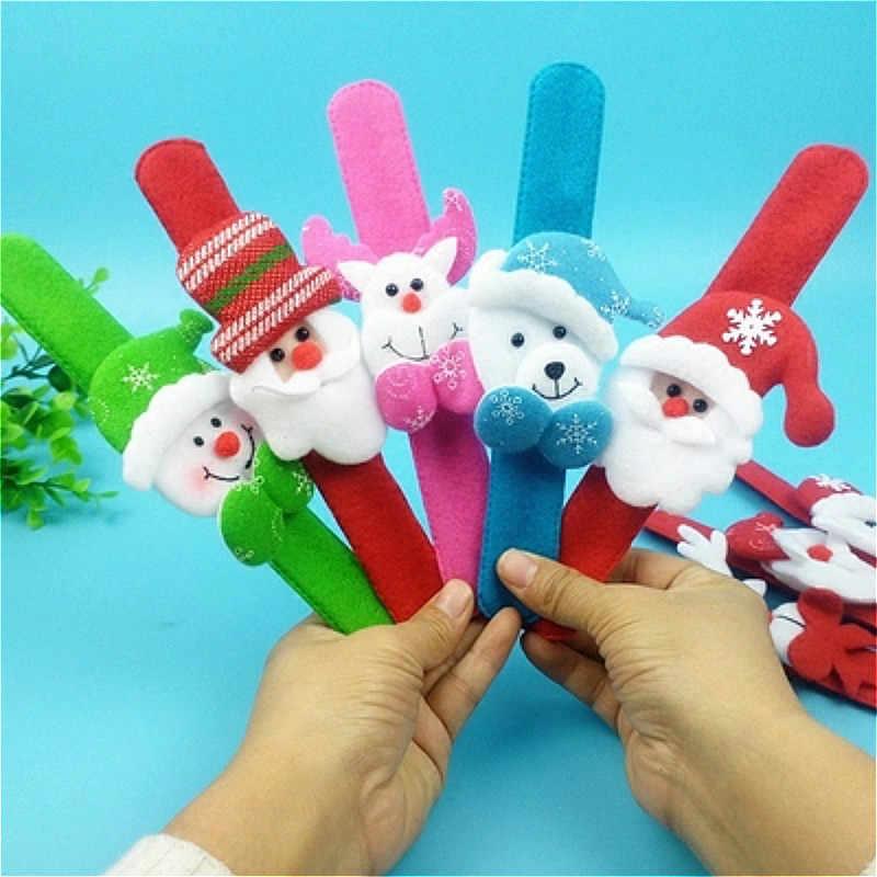 Klassieke speelgoed Speelgoed Beweegbare Hand Sluiting Kerst Cartoon Action Figure Funny Gadgets voor Kinderen Speelgoed Beauty Gift Joke