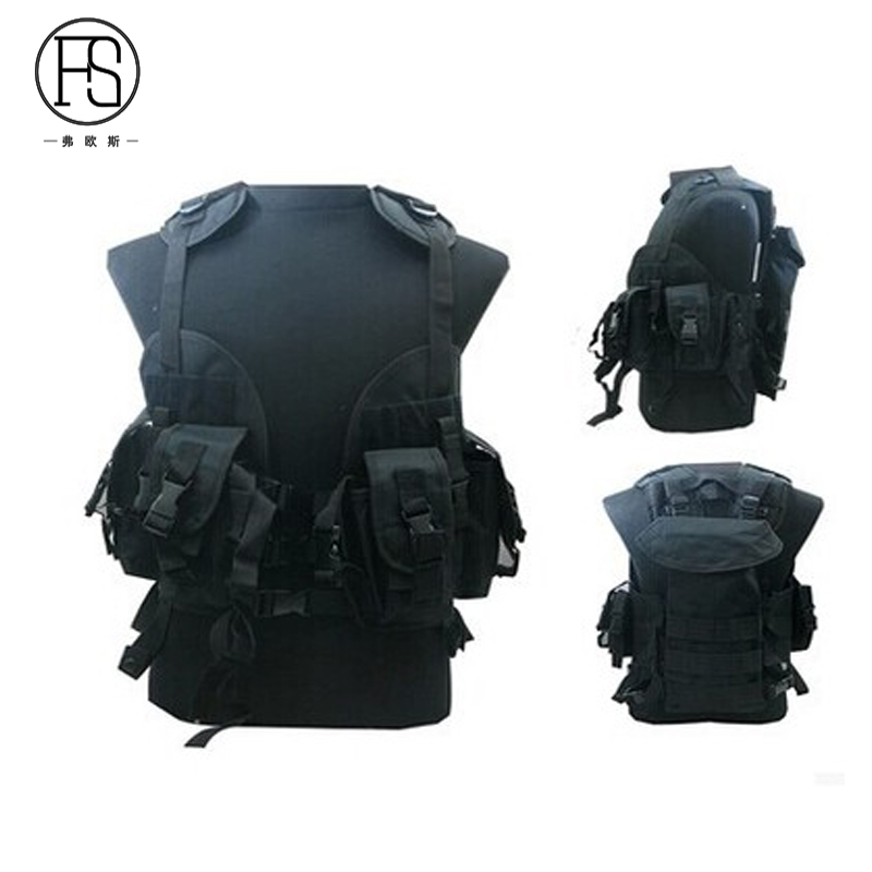 Good Quality Nylon Army Military Training Vest Hunting Shooting War Game Tactical Gear Camouflage Vests Airsoft Vest