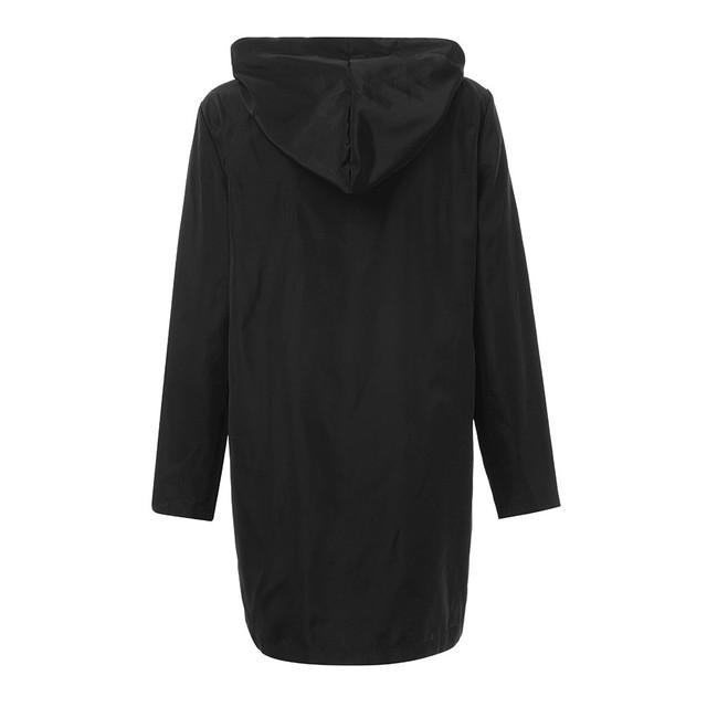 Outerwear & Coats Jackets Women Waterproof Raincoat Overcoat Windbreaker Jacket
