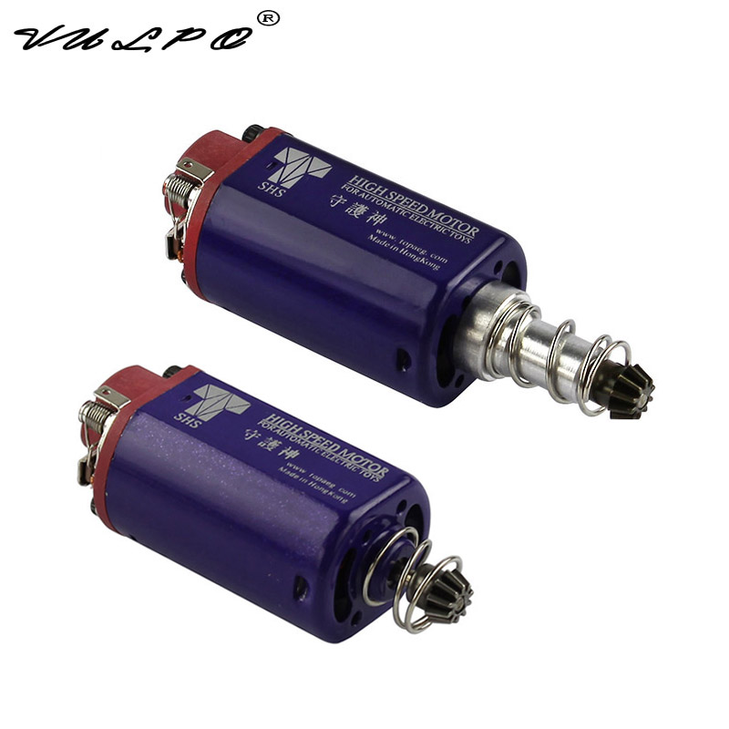 VULPO New SHS High Speed AEG Motor for Airsoft AEG M16/M4/MP5/G3/P90 & AK/G36-in Hunting Gun Accessories from Sports & Entertainment    1