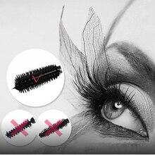 Black Beauty Salon Cosmetic Makeup Curling Lengthening Eyelash Extension Mascara Brush