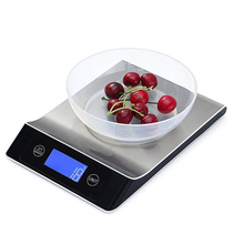 Stainless Steel 15KG/1G Portable Balance Digital Kitchen Scale With LCD Electronic Postal Platform Baking Diet Food Weight laboratory balance scale 50g 0 001g high precision jewelry diamond gem lcd digital electronic scale counting function portable