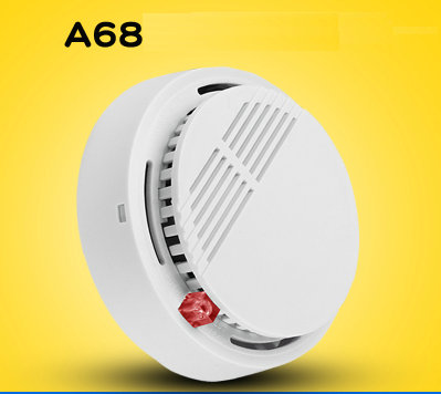 Wireless Smoke Alarm Fire Detector Home Independent Sound And Light Alarm For Hotel/School/Warehouse/Hospital/Factory/Office