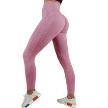 Sexy Push Up Leggings Women Workout Clothing High Waist Leggins Female Breathable Patchwork Fitness Pants ladies Gym Sports(China)