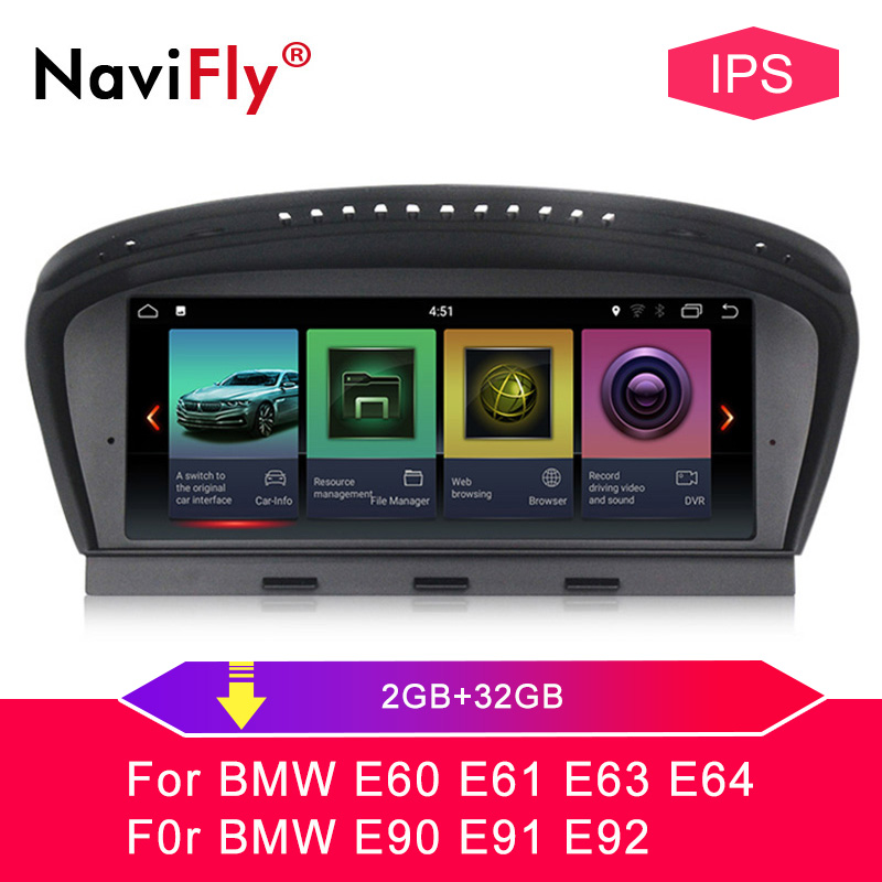 Navifly ID7 2G 32G Android 7.1 Car Radio Multimedia Player For BMW 5 Series System