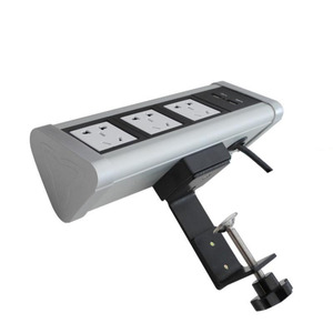 Image 2 - Fabrika doğrudan satış taşınabilir/no açılış masası/klip masaüstü multimedya masaüstü soketi şık uygun soket PD 01