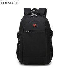 Poesechr ноутбук рюкзак человек ежедневно рюкзак дорожная сумка Школьные Сумки 15.6 дюймов Для женщин рюкзак Mochila Feminina