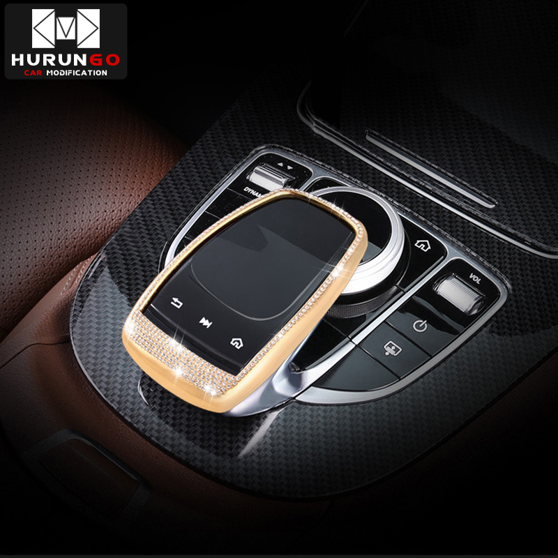 Coupe C292 15-16 4* Interior Headrest Adjustment Cover Trim For Benz GLE W166