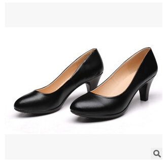 spring 2015 new women's genuine leather shoes business