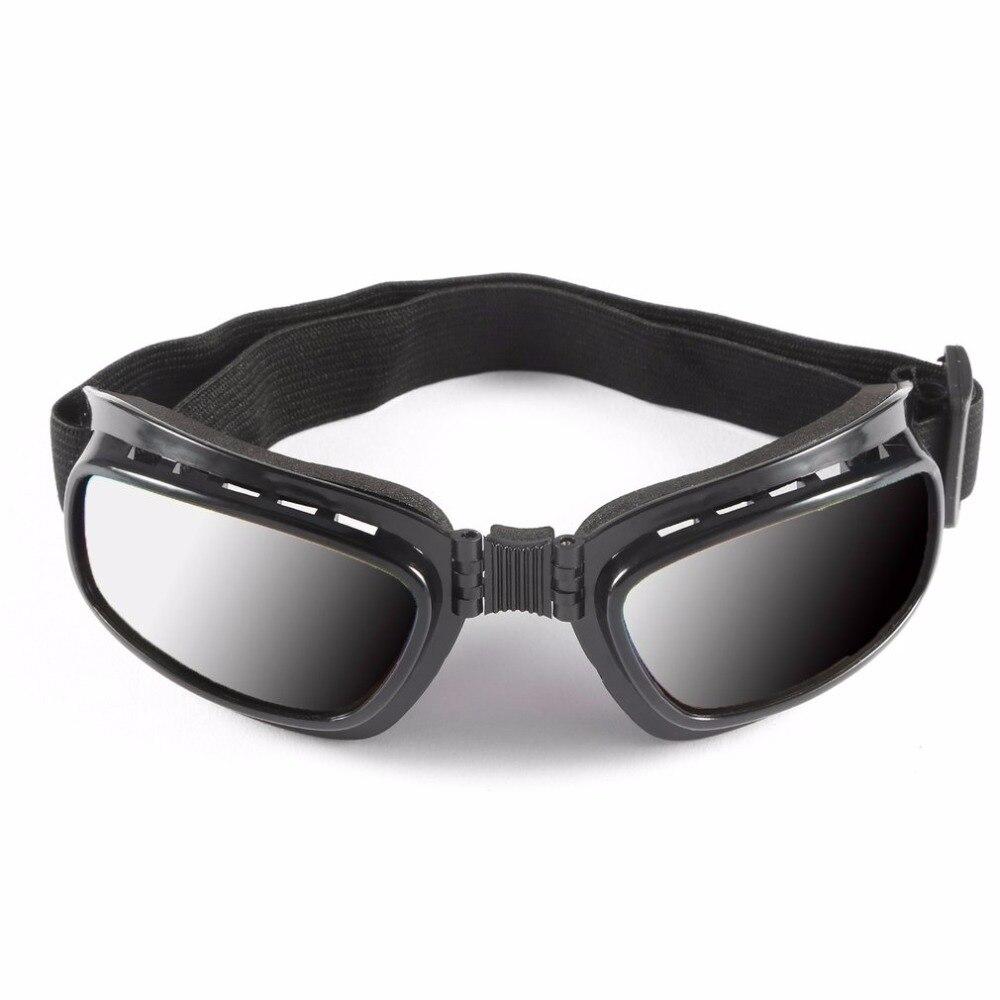 Falten Vintage Motorrad Schützen Gläser Winddicht Staubdicht Ski Brille Road Racing Brillen Glasse Einstellbare Elastische Objektiv Zu Hohes Ansehen Zu Hause Und Im Ausland GenießEn