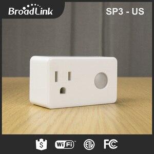 Image 3 - Broadlink SP3 SP2 SP3S Contros ワイヤレス無線 Lan タイマーソケットリモート電源プラグ IOS Android のリモートコントロールスマートホームオートメーション