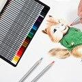 36/48/72 farben Holz Farbigen Bleistift Künstler Beruf Kunst Zeichnung Öl Farbe Bleistifte Für Schule Zeichnung Skizze kunst Liefert