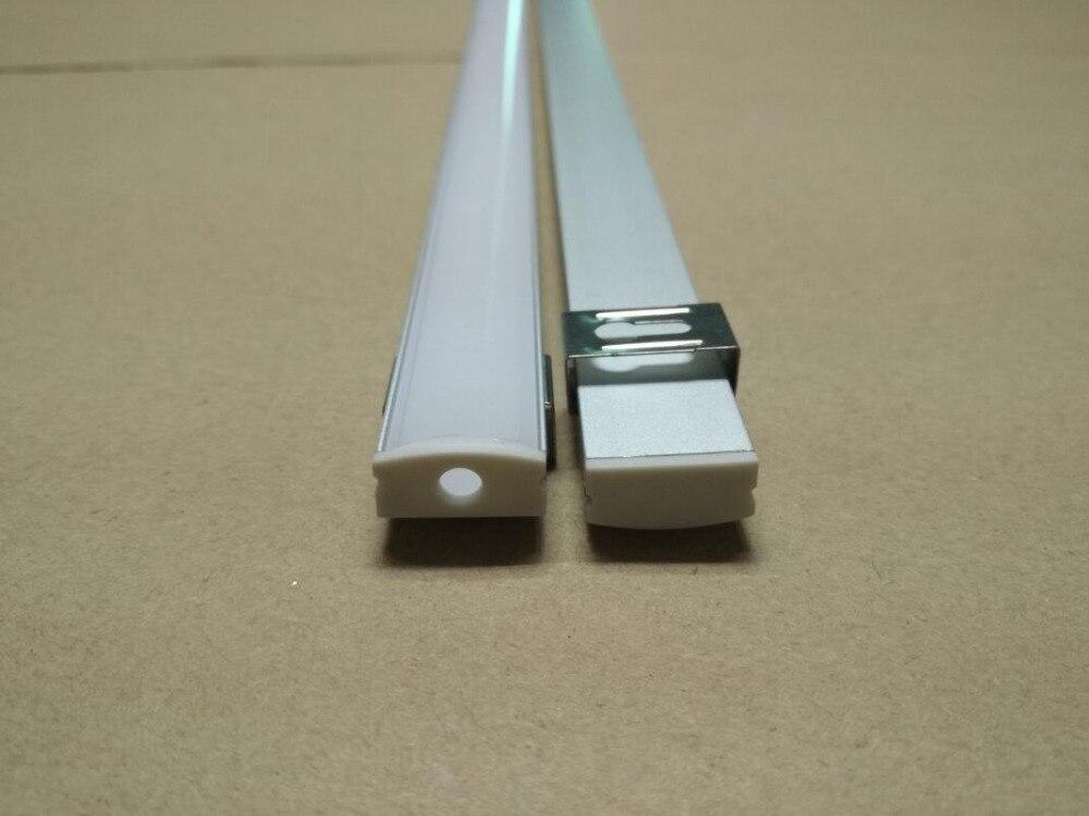 Freies Verschiffen LED-Streifen-Licht-Aluminiumprofil für geraden - LED Beleuchtung