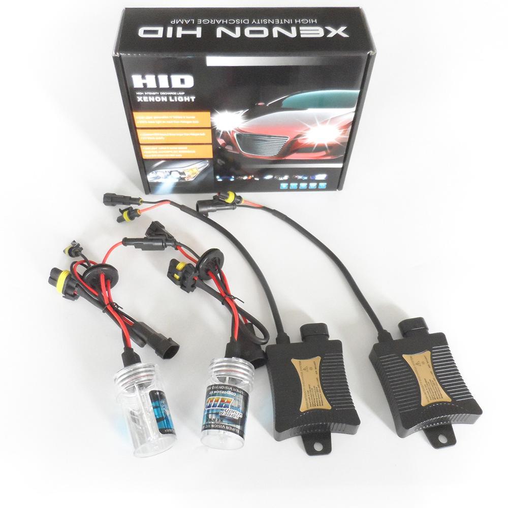 55W H11 12V Xenon Light Bulb Car Vehicle Headlight HID Ballast Headlamp Kit