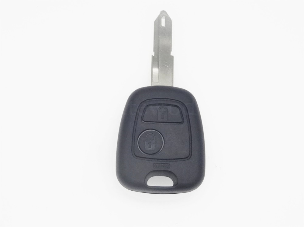 Replacment 2 Buttons Remote Key Shell case cover Fob auto parts for peugeot NO STICKER accessories