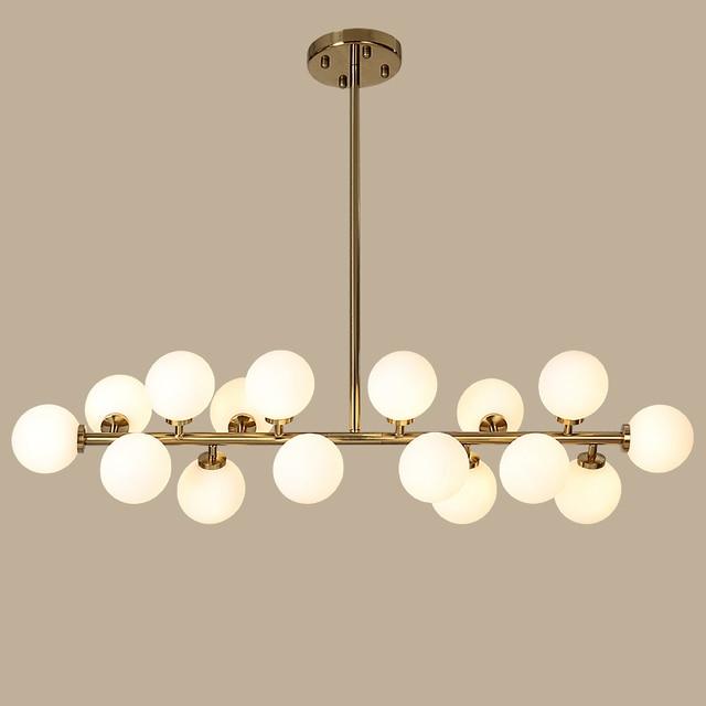 Nordic Magic Bean Pendant Lights Gl Lampshade G4 Re Led Lamp Art Deco Lamparas Colgantes Hanglamp