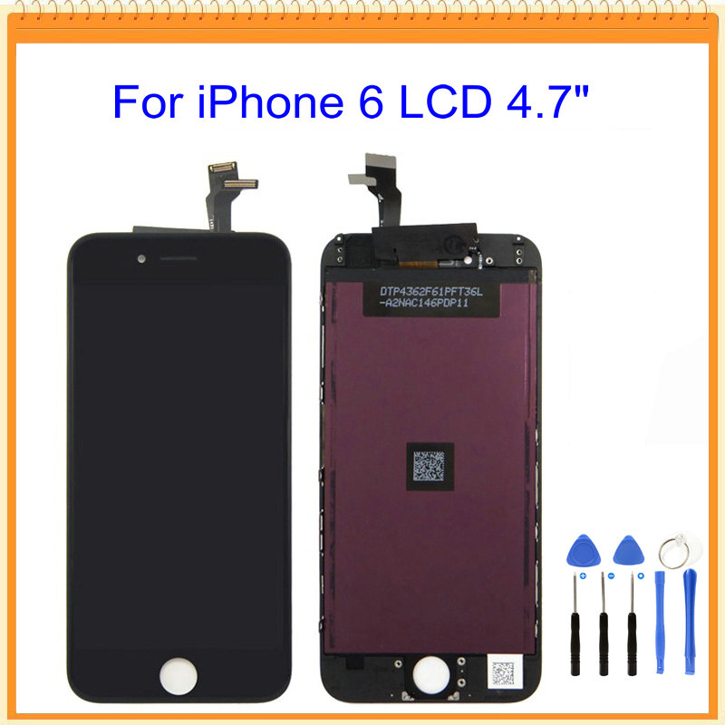 A  For iPhone 6 5 5s 5c LCD Screen Display with Touch Screen Digitizer Assembly