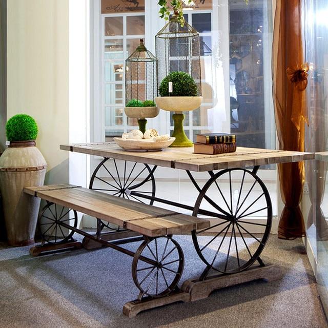 Americana informal mesas de comedor y sillas fuera cafés con estilo ...