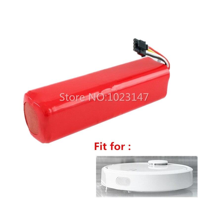 1 pièce 5600 mAh Robotique 18650 bloc-pile remplacement pour Xiaomi Roborock S50 S51 S55 robotique aspirateur Pièces Accessoires