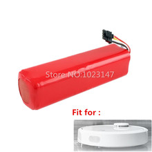 1 piece 5600mAh Robotics 18650 Battery Pack replacement for Xiaomi Roborock robot Vacuum Cleaner