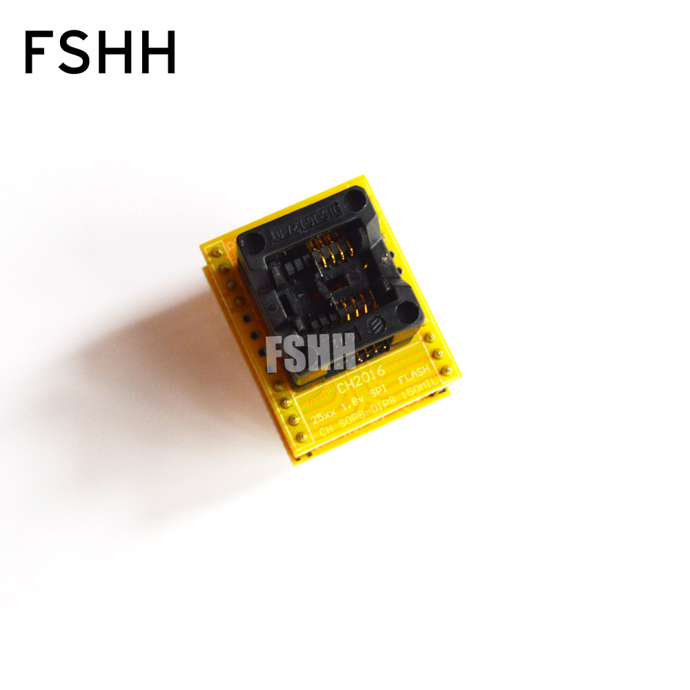 150mil SOP8 1.8V Adapter For Iphone Or Motherboard 1.8V SPI Flash W25 MX25 Can Use On Programmers Such As TL866CS TL866A