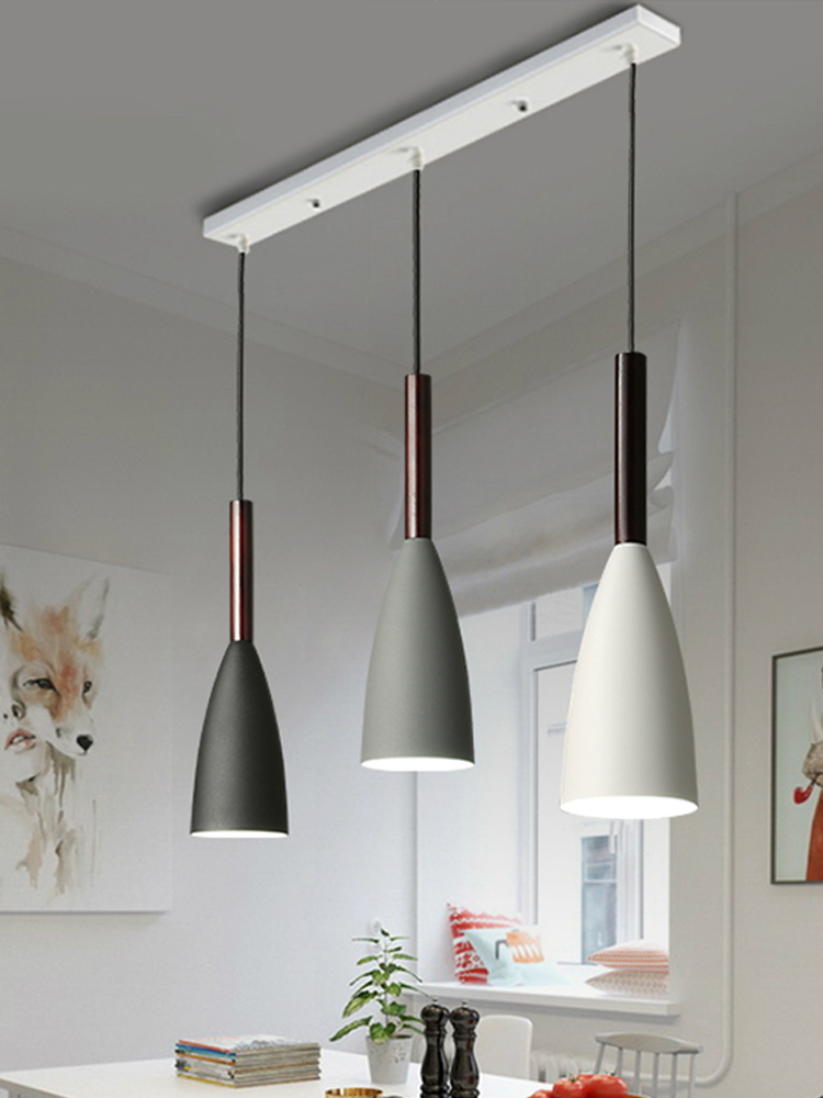 Modern LED chandelier dining room lighting fixtures Nordic home hanging lights bedroom illumination restaurant suspended lamps led pendant lights modern suspension luminaire nordic dining room lighting fixtures bedroom lamps restaurant hanging lights