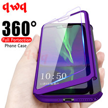 Luxury 360 Full Cover Protective Cases For Huawei Mate 10 20 P10 P20 Lite Pro Hard PC Back Cover For Huawei P Smart 2019 Shell(China)