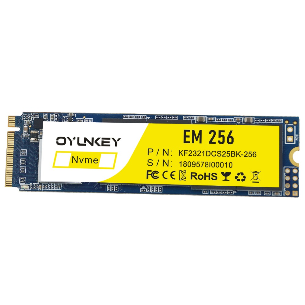 M.2 SSD OYUNKEY 256GB 512GB NVME Solid State Drive PCIE 2280 Hard drive 3D NAND PCI Express Internal Drive Laptop PC best new sm951 nvme 256gb 256 gb pcie 3 0 x4 2280 ssd solid state hard disk drive for razer blade stealth 2016 ultrabook laptop