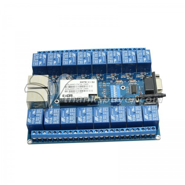 16 Channel Relay WIFI Network IO P2P Remote Control Relay For Arduino Relay Android