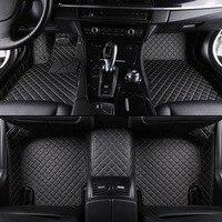 kalaisike Custom car floor mats for Land Rover All Models Rover Range Evoque Sport Freelander Discovery 3 4 car styling